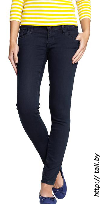 Женские джинсы для высоких