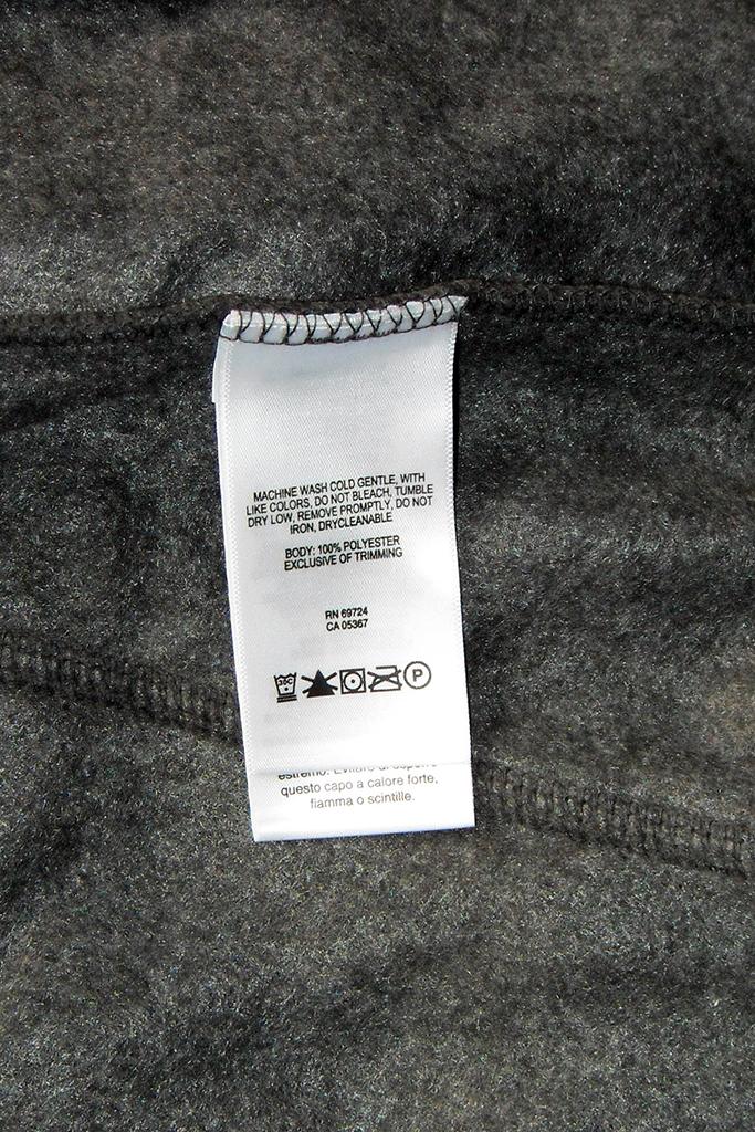 этикетка как ухаживать за одеждой