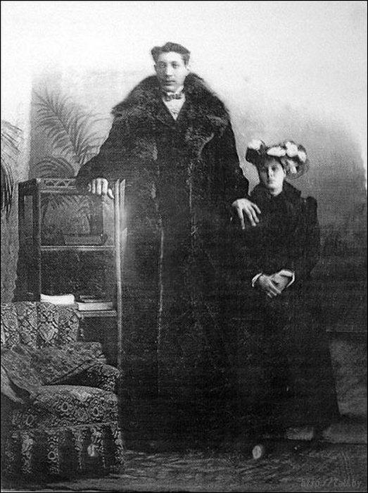 Федор со своей женой Ефросиньей