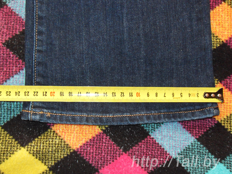 ширина колошины снизу 23,5 см