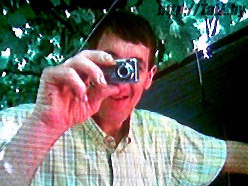 Леонид Стадник с фотоаппаратом