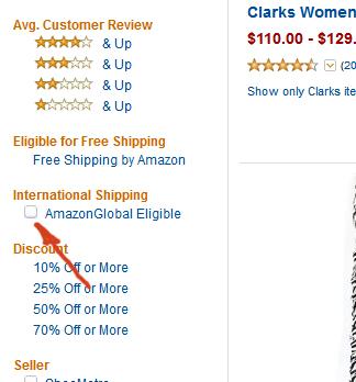 Некоторые товары с Amazon имеют доставку по всему миру