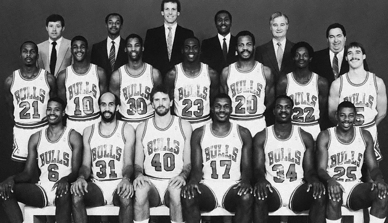 Команда Чикаго Буллз, 1985 год