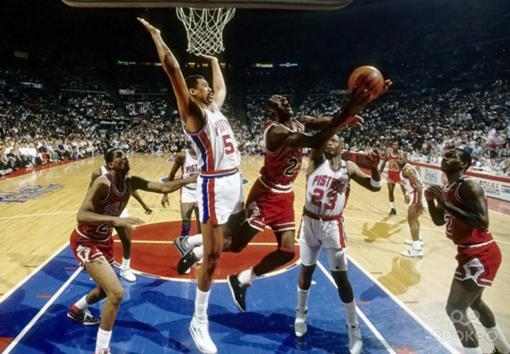 Чикаго Буллз против Детройт Пистонс, 1991