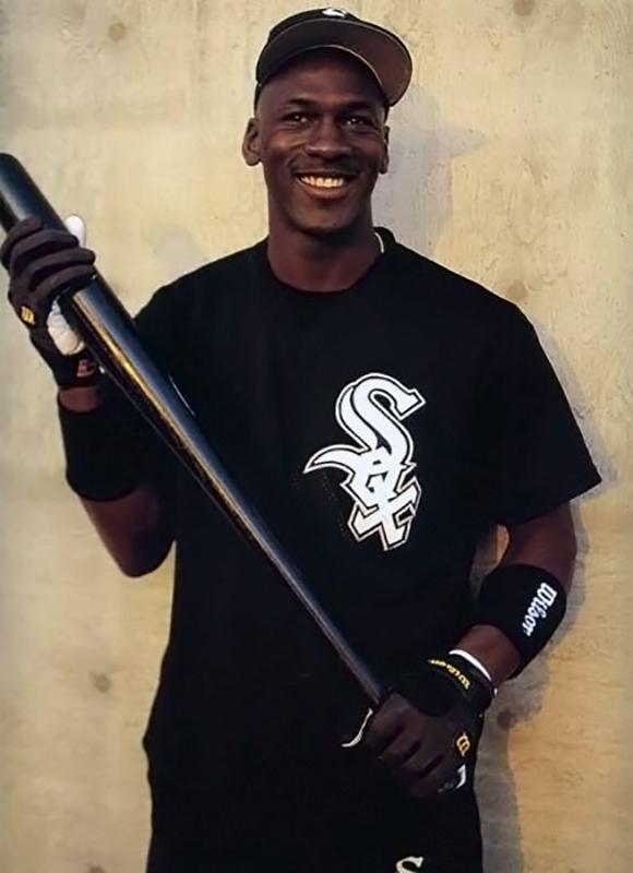 Джордан в бейсбольной команде Чикаго Уайт Сокс